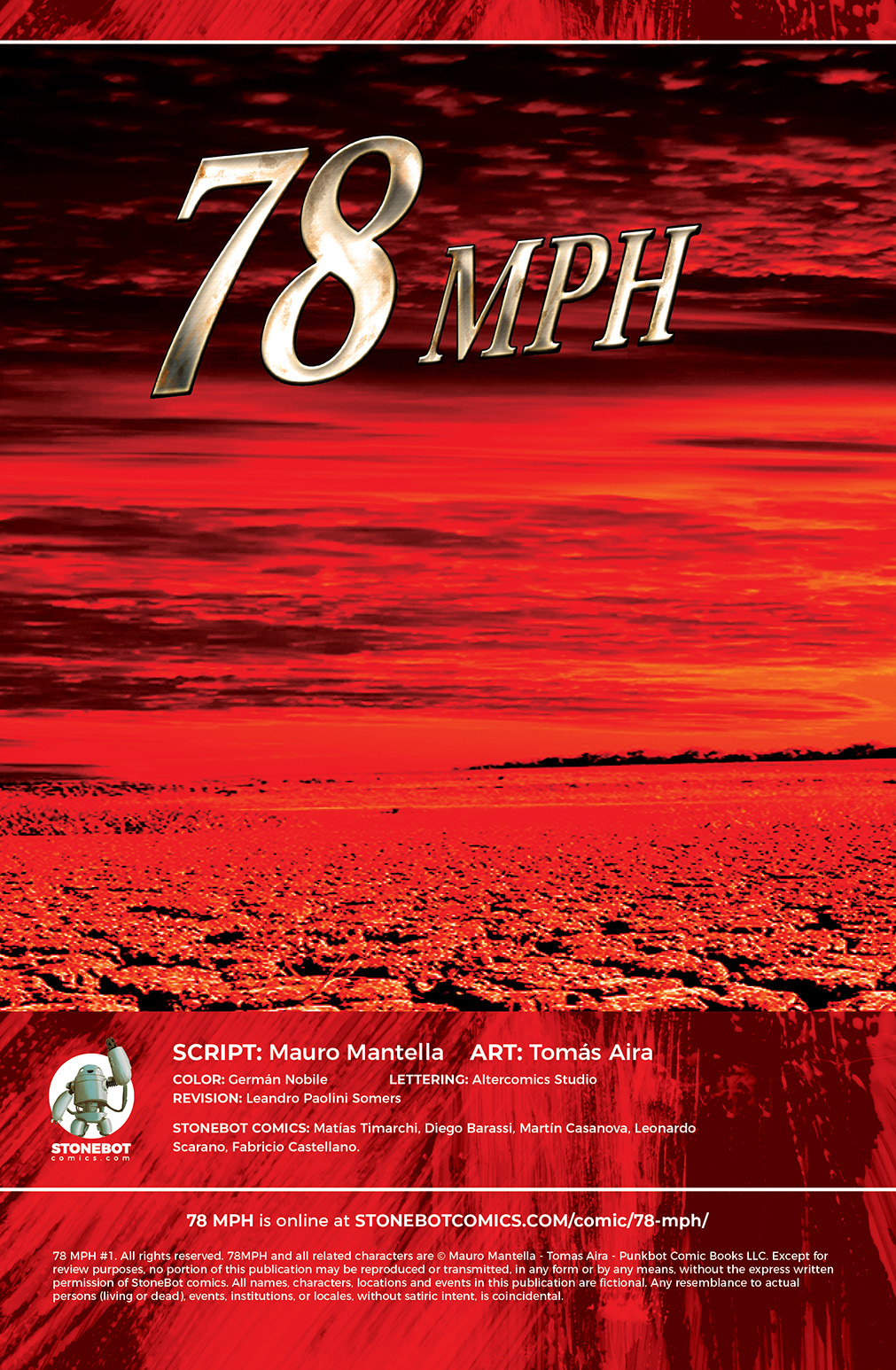 78 MPH Chapter #1 Page #2