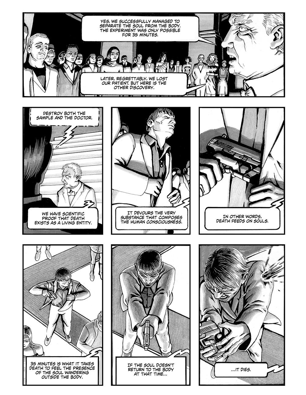 ANGELA DELLA MORTE Chapter #1 Page #8