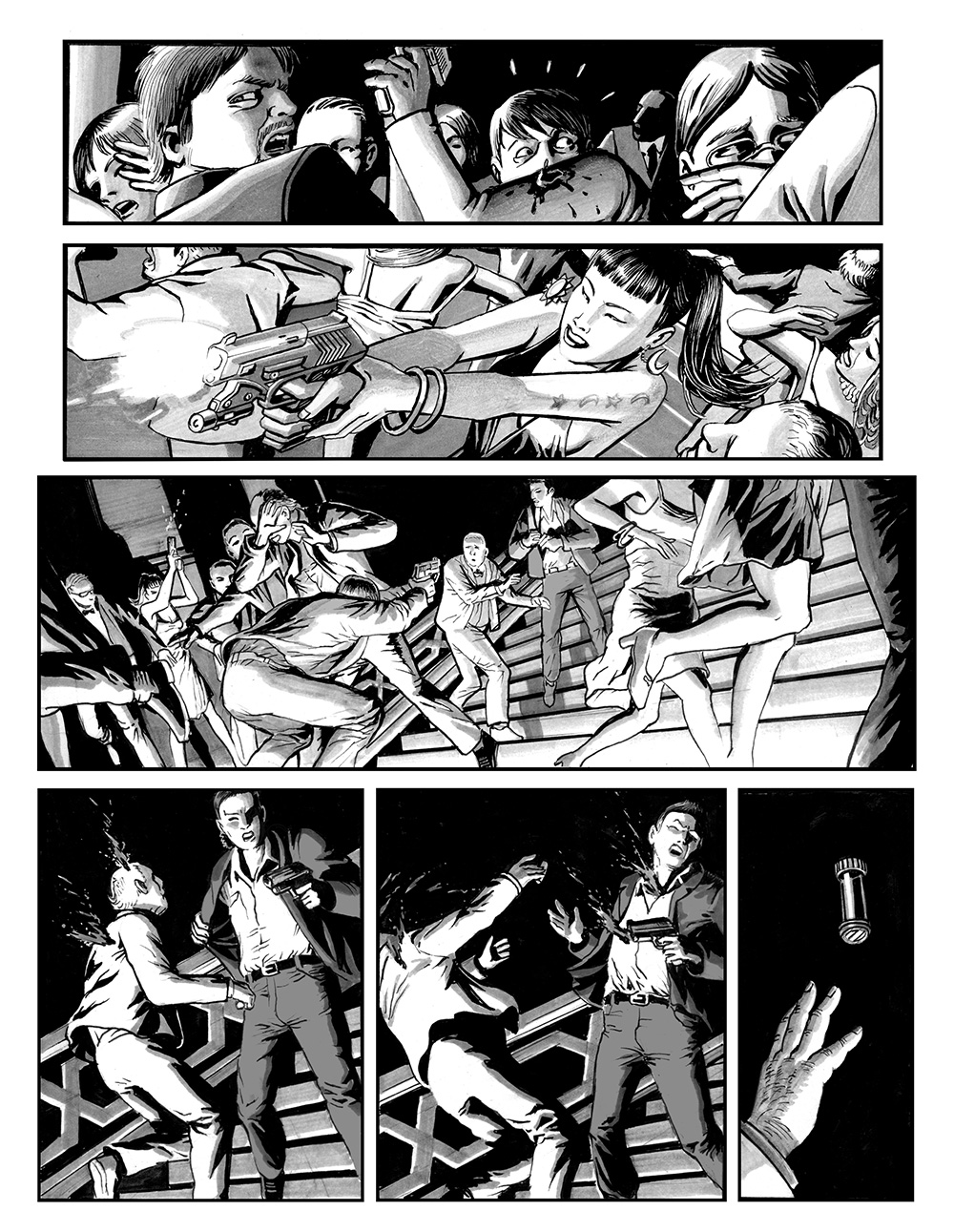 ANGELA DELLA MORTE Chapter #1 Page #9