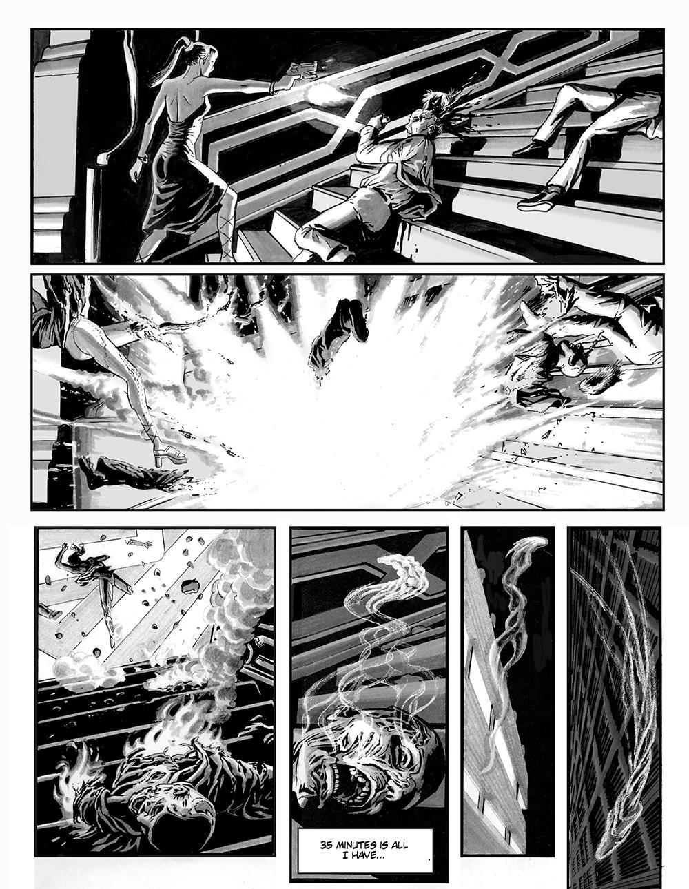 ANGELA DELLA MORTE Chapter #1 Page #12