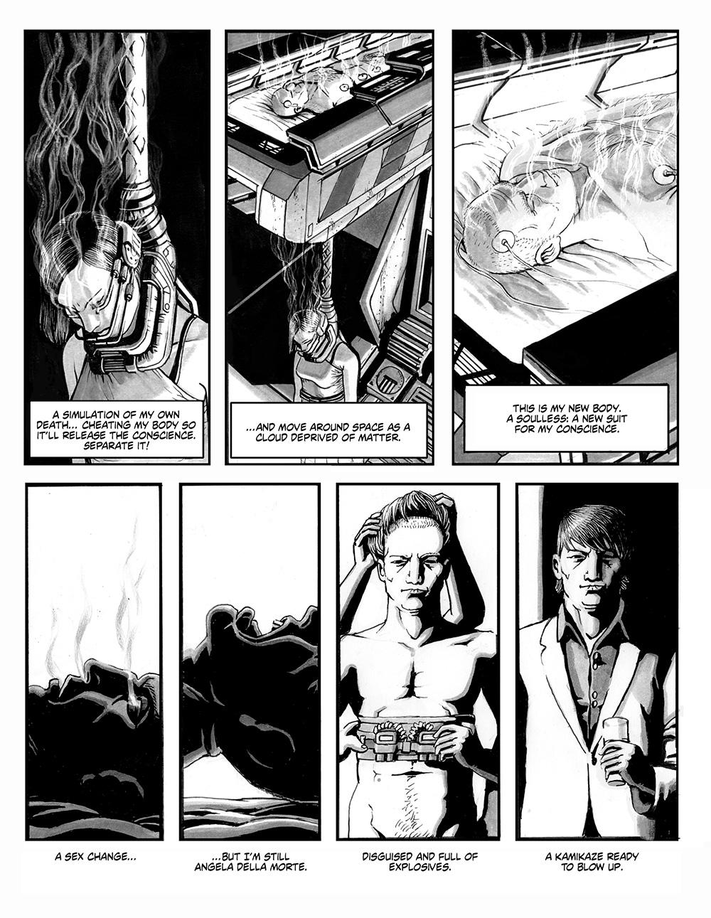 ANGELA DELLA MORTE Chapter #1 Page #5