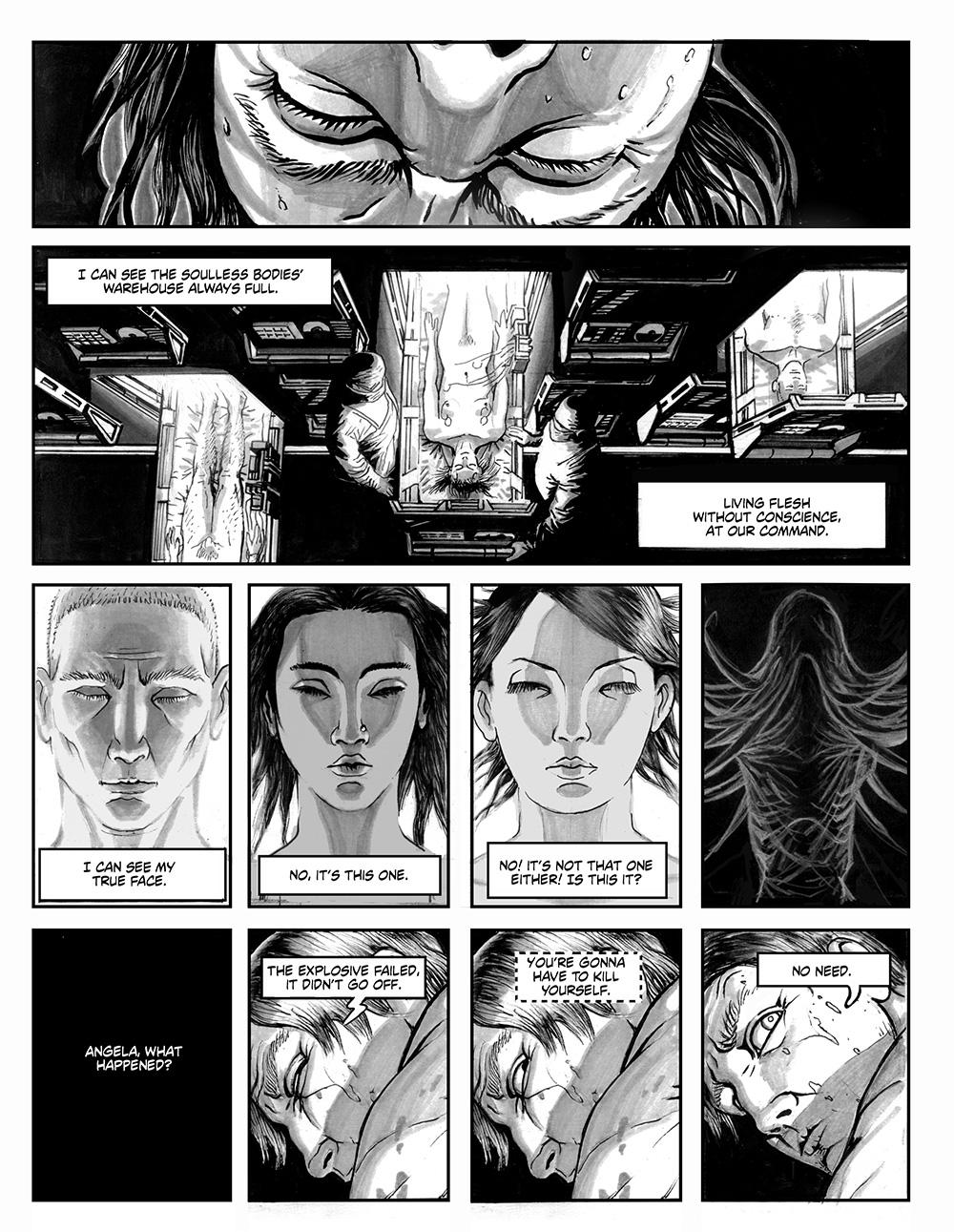 ANGELA DELLA MORTE Chapter #1 Page #11
