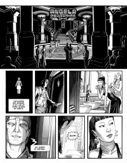 ANGELA DELLA MORTE Chapter #1 Page #6