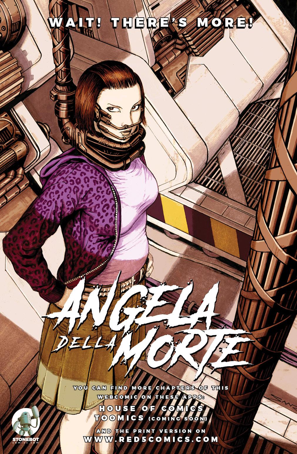 ANGELA DELLA MORTE Chapter #1 Page #15
