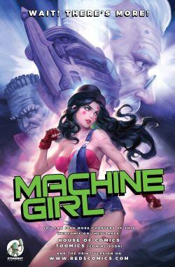 MACHINE GIRL Chapter #1 Page #31