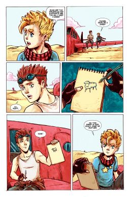 THE LITTLE PRINCE Chapter #1 Page #15