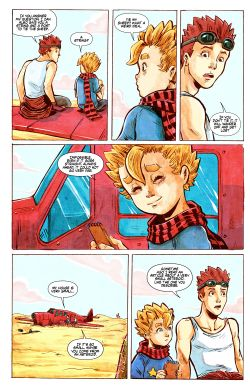 THE LITTLE PRINCE Chapter #1 Page #21