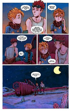 THE LITTLE PRINCE Chapter #1 Page #24