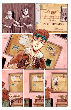 THE LITTLE PRINCE Chapter #1 Page #6