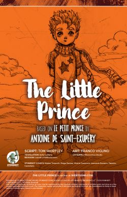 THE LITTLE PRINCE Chapter #1 Page #2