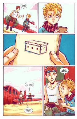 THE LITTLE PRINCE Chapter #1 Page #17