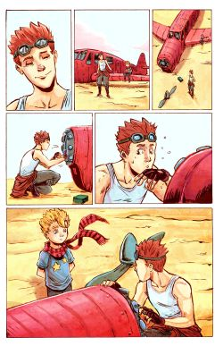THE LITTLE PRINCE Chapter #1 Page #18