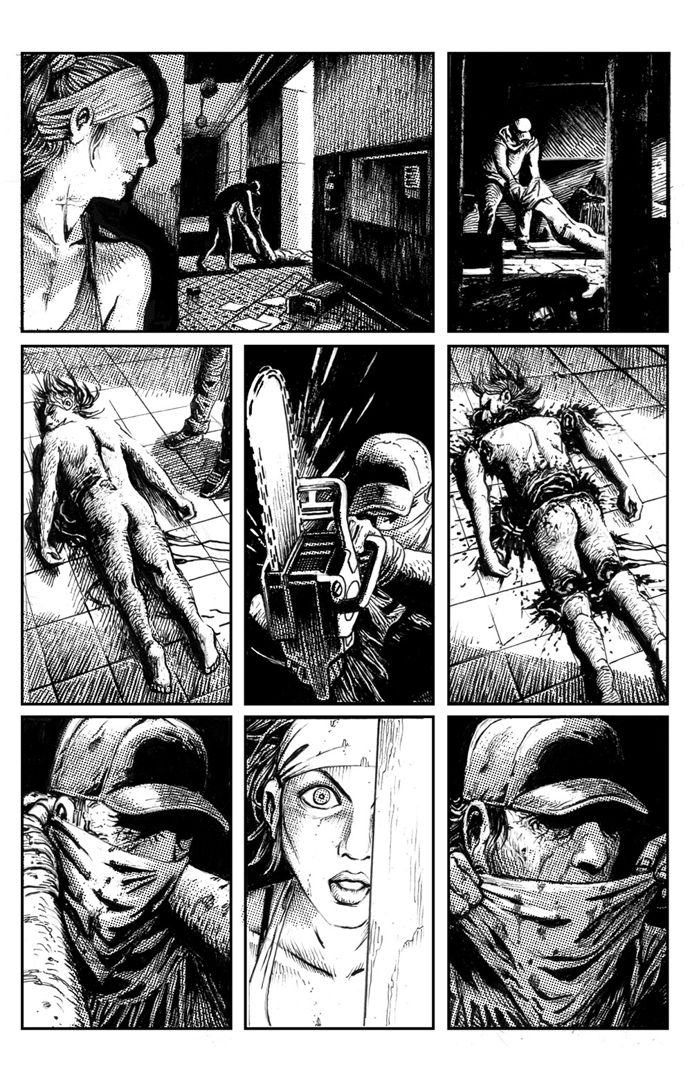 THE SKELETON Chapter #1 Page #10
