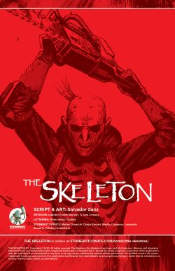 THE SKELETON Chapter #1 Page #2