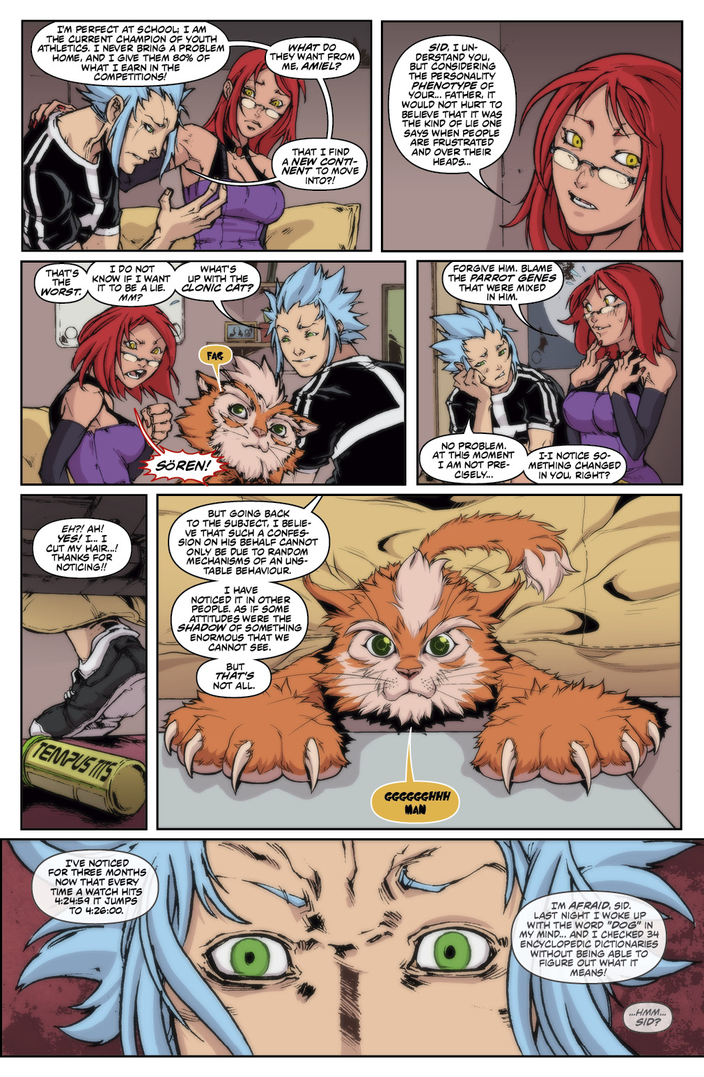 TIME 5 Chapter #1 Page #9