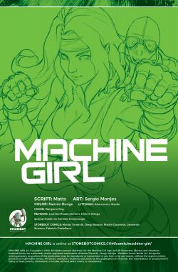 MACHINE GIRL Chapter #1 Page #2