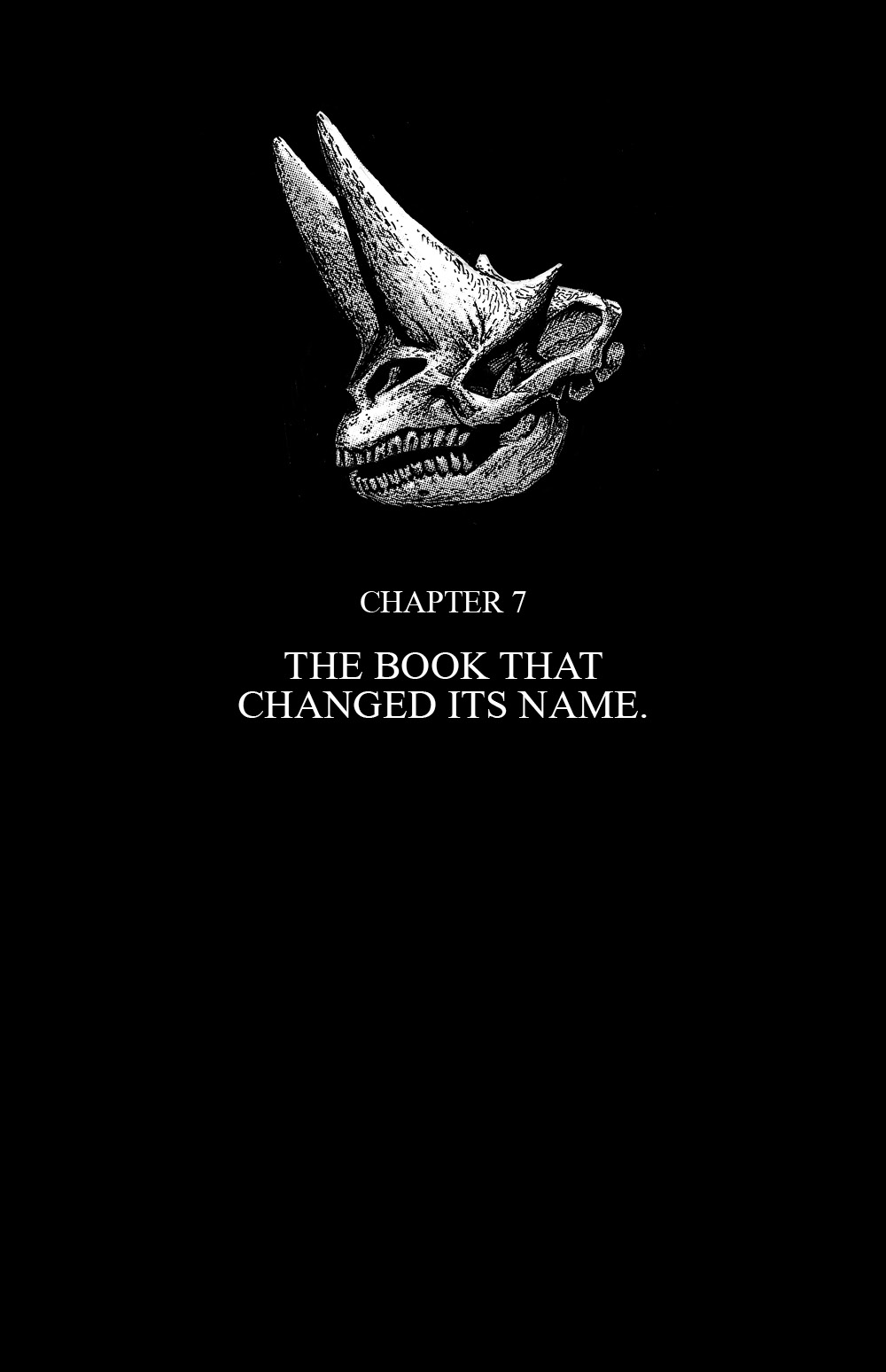 THE SKELETON Chapter #7