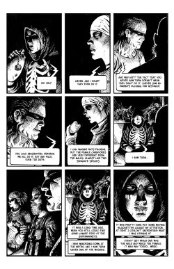 THE SKELETON Chapter #3 Page #3