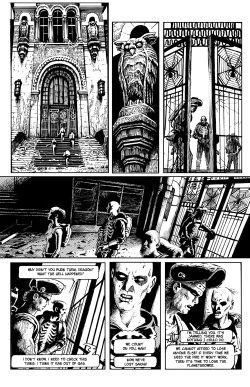 THE SKELETON Chapter #2 Page #11