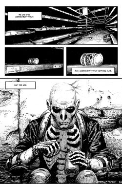 THE SKELETON Chapter #1 Page #12