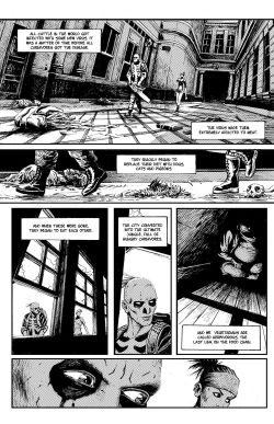 THE SKELETON Chapter #1 Page #4